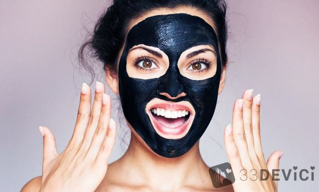 Black mask - чорна маска для обличчя: секрети жіночої краси