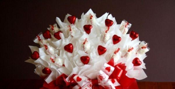 Квіти з цукерок своїми руками - основи світ-дизайну