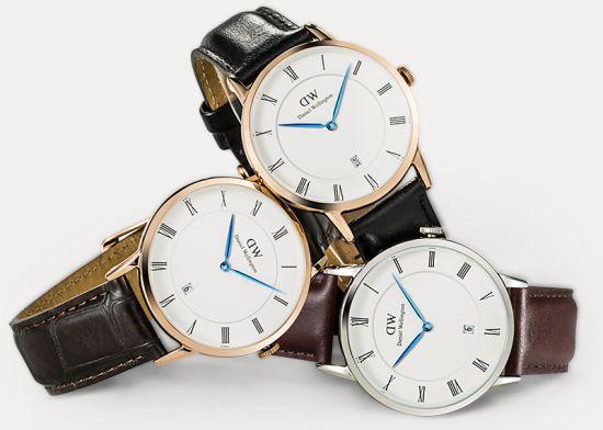 Daniel wellington представляє ділову колекцію годинників: dapper