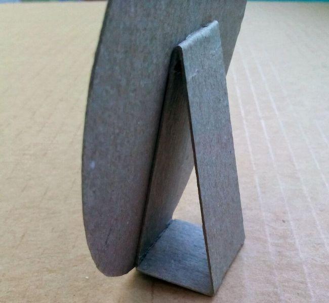 Фоторамка своїми руками для декору каміна