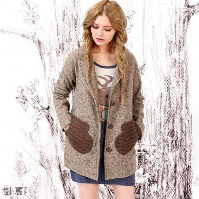 Способи декору пальто - ідеї