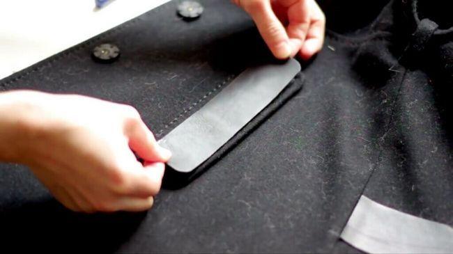 Як зробити ремонт пальто
