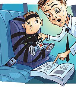 Дитяче автокрісло, як не помилитися у виборі?