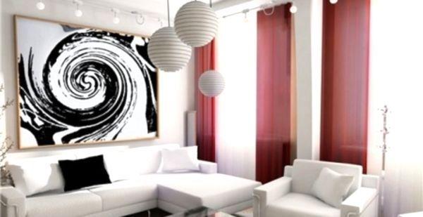 Дизайн залу в маленькій квартирі