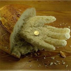 Їжа руками чоловіки