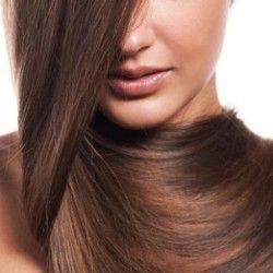 глянцевание волосся
