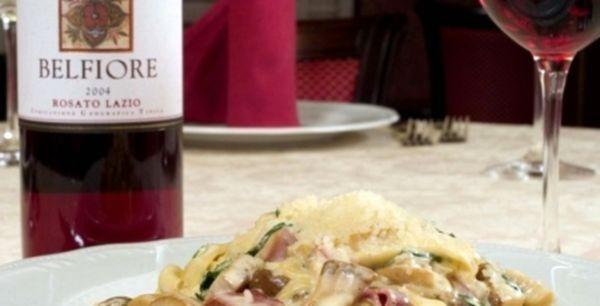 Італійська кухня: паста з грибами у вершковому соусі