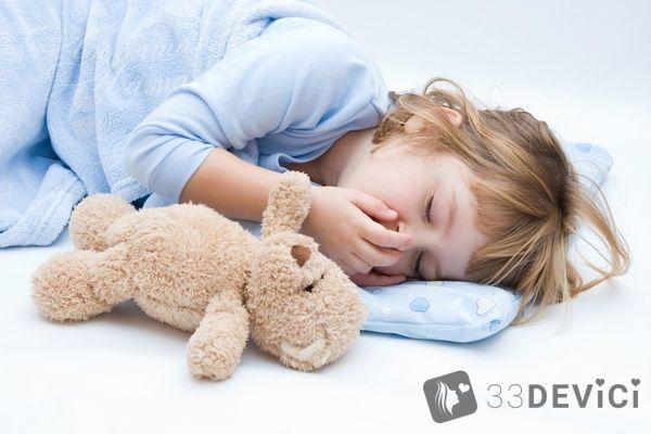 Як швидко укласти дитину спати?