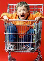 Як ходити з дитиною по магазинах без сліз і істерик. Частина 1.