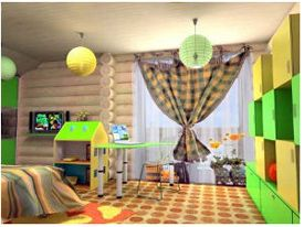 Як і навіщо ділити дитячу кімнату на зони?