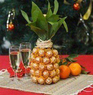 Шампанське з ананасом