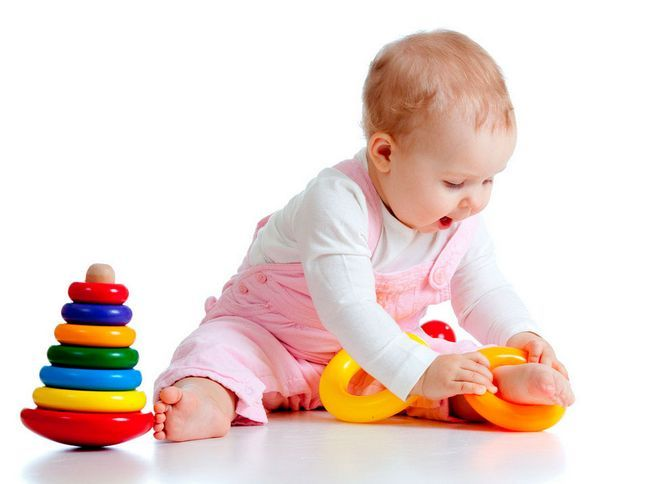 розвиваючі ігри для дітей в 9 місяців