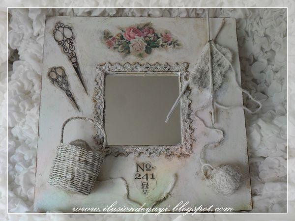 Як зробити гарний декор простого дзеркала