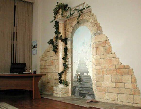 Як оформити колону в квартирі та будинку