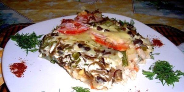Картопляна запіканка з куркою і грибами - наша відповідь італійцям