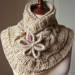 Гарний шарф своїми руками