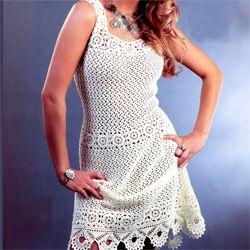 Мереживні біле плаття