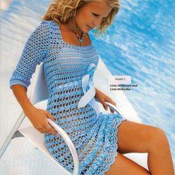 Літнє плаття гачком