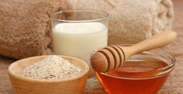 Молоко з медом в косметології і народній медицині