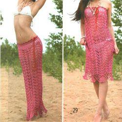 Пляжне плаття-спідниця