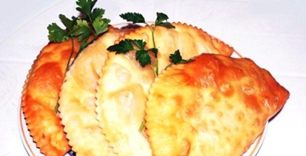 Рецепт приготування чебуреків