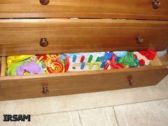 Системи зберігання в однокімнатній квартирі з двома дітьми