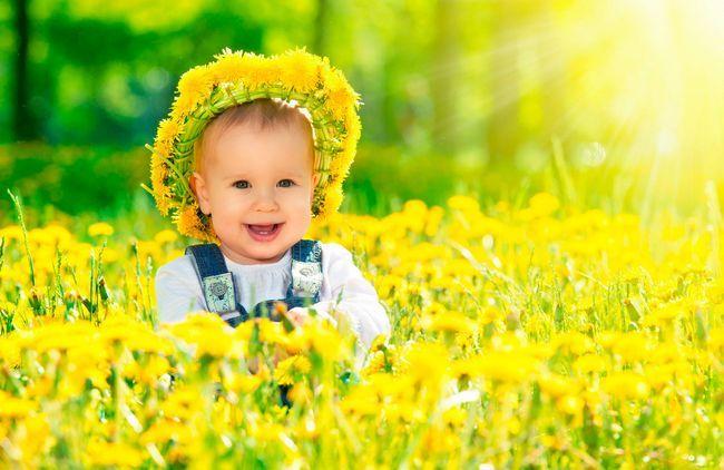 Вірші про жовтий колір для дітей