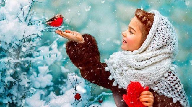 Вірші про зиму для дітей 4-5 років