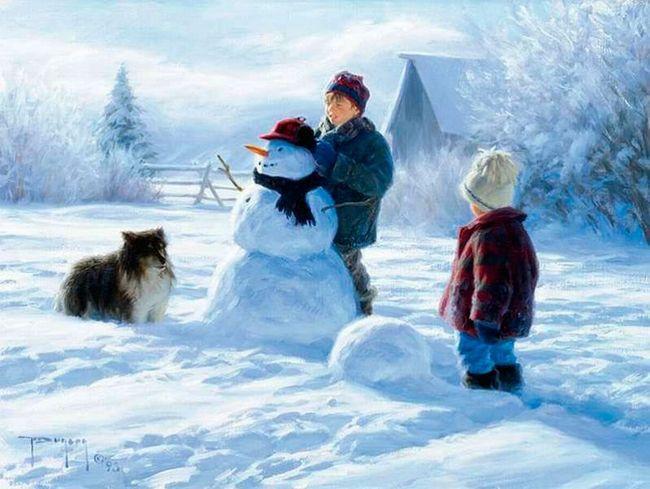 красиві зимові вірші для дітей 4-5 років