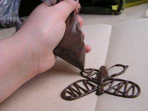 Варіанти оформлення шоколадом