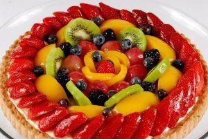 Варіанти оформлення фруктами