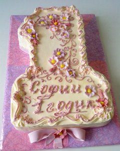Варіанти оформлення тортів масляним кремом